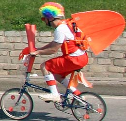 Kinetic Sculpture Race Participant