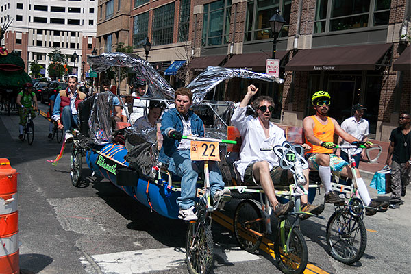 Baltimore Kinetic Sculpture Race 2012 Race Report Bike To The Future