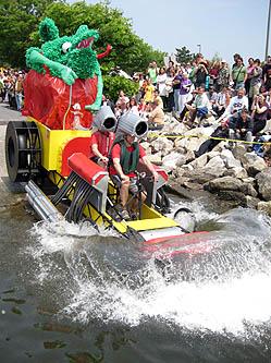 Baltimore Kinetic Sculpture Race 2008 Race Report 2008